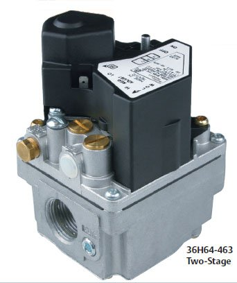 White Rodgers Gas Valve, 2 Stage Fast Open, Natural/LP by...