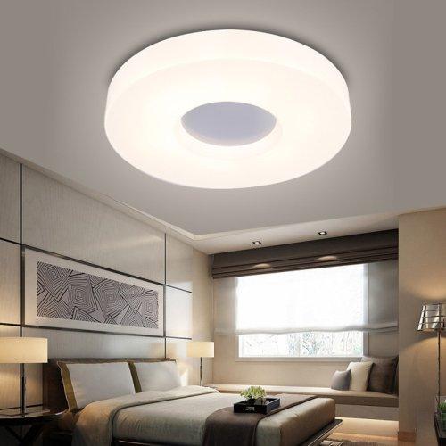 LightInTheBox Modern/Contemporary Round Ceiling Lights/Flush Mount LED Lighting Fixture, Light Source=Warm White, Voltage=90-240V