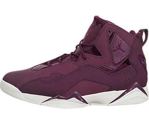 Men's Jordan True Flight Basketball Shoe, Bordeaux/Bordeaux-Sail 10.5