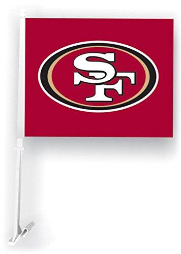 San Francisco 49ers Rico Industries Car Flag ()