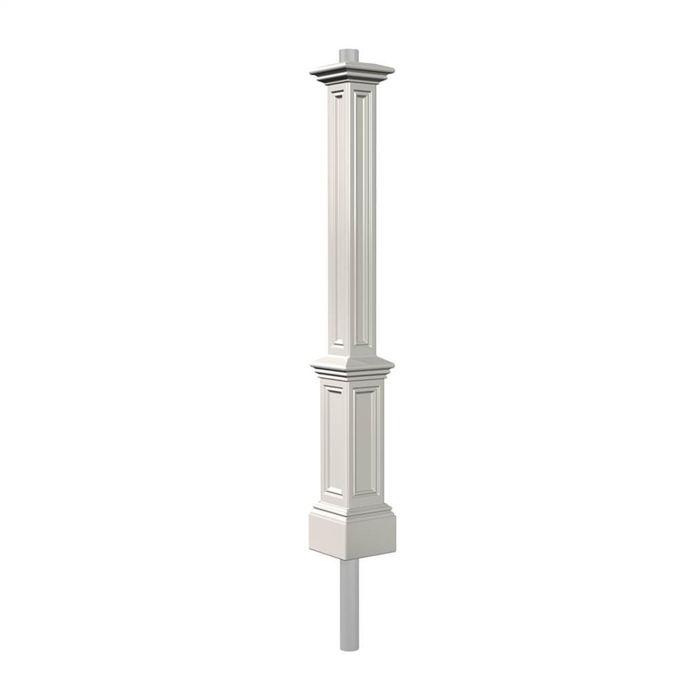 Mayne 5835-BK Signature Lamp Post with 89-Inch Aluminum Ground Mount