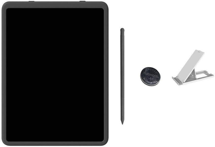 11inch LCD Business Writing Tablet Schreibtafel (Color : White2) Black1