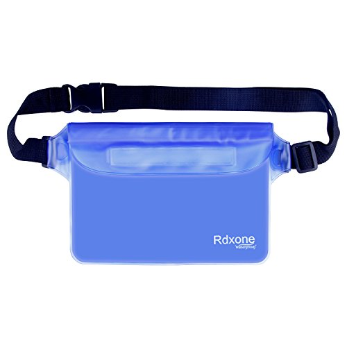Waterproof Pouch, Rdxone Waterproof Pouch Bag with Super Lightweight and Bigger Space, Protect iphone7 6 7 plus 6 plus Samsung s4 Galaxy s8 for Kayaking, Beach, Rafting, Boating and Other Water Sports