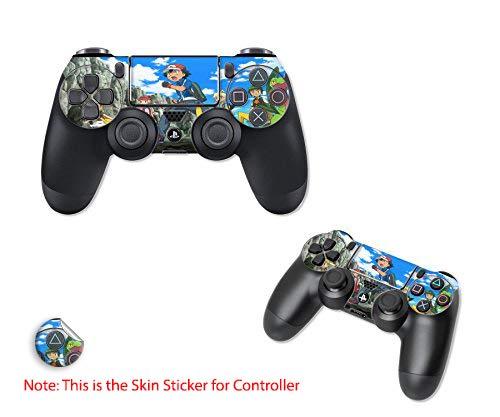 GADGETS WRAP Printed Pokemon Fight Theme Skin for PS4 Controller (Set of 2 Controller's Skin) (B07FK14VTK) Amazon Price History, Amazon Price Tracker