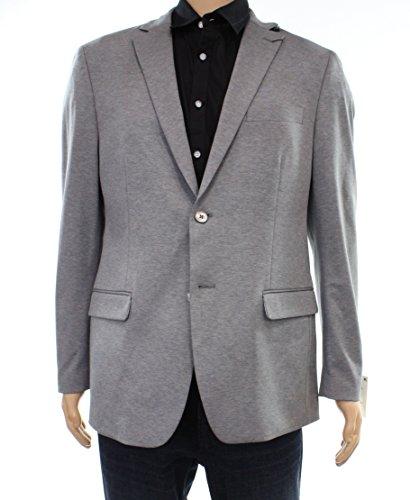 Lauren Ralph Lauren Men's Classic-Fit Solid Soft Knit Sport Coat, Grey 46R -