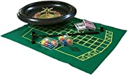 Home Casino kit with ABS 16'' Roulette Wheel and B