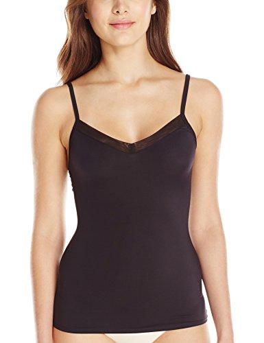 UPC 090649674458, Vassarette Women's Smoothing Camisole 17490, Black Sable, Large