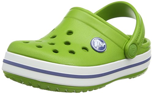 Clogs - Parrot Green/White - US C10/11 ()