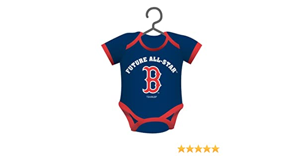 4e22d8c5c Amazon.com: MLB Baby Shirt Ornament MLB Team: Boston Red Sox: Home & Kitchen