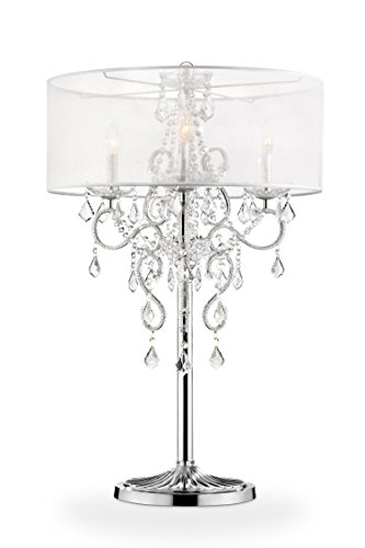 OK Lighting OK-5153T Evangelia Table Lamp, 22
