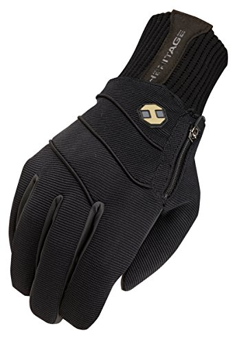 Heritage Gloves Extreme Winter Gloves, Size 8, Black - Heritage Competition Gloves