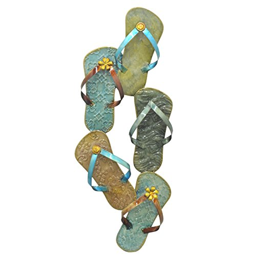 FlipFlops Metal Wall Decoration