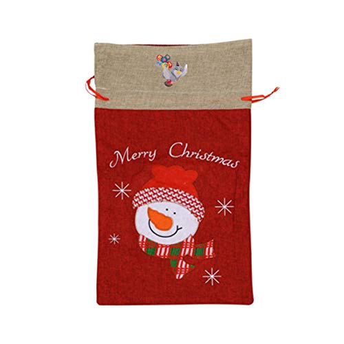 VAbBUQBWUQ Plug-in-Wordpress-Newsletter-email-Computer-softwa Santa Clause Drawstring Candy Goody Toy Gift Stocking Bag Holiday Wrapping Party Favors Presents Decorations