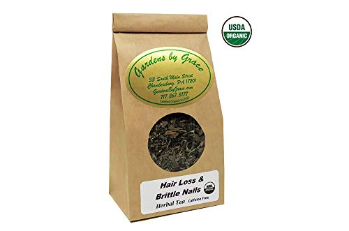 - Hair Loss and Brittle Nails | Natural Treatment for After Pregnancy, Radiation, Alopecia | Repair Thinning, Restore Growth | For Men and Women | Organic Herbal Tea, 2 oz