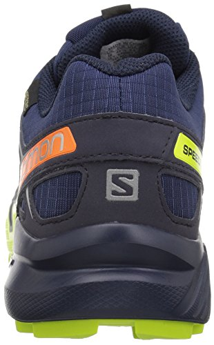 Salomon Herren Speedcross Vario 2, Synthetik/Textil, Trailrunning-Schuhe blau / lime