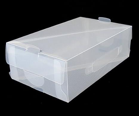 Cajas de Zapatos Transparentes - Pack de 5 (Sistema de Imbricaci—n + Separadores