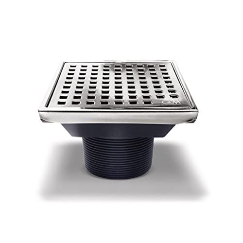 Qm Square Shower Drain Grate Made Of Stainless Steel