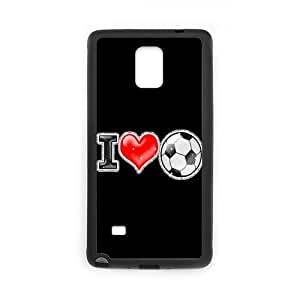 2015 New Creative Theme Loving Soccer Never Stop Pictures Design Hard Protective Back Cover Shell for SamSung Galaxy Note4 Phone Case-5