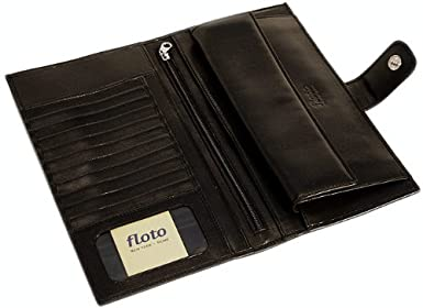 Floto Leather Document Folder Firenze Leather Document Folder Color Black Floto Imports 307BLACK FLI1033/_parent
