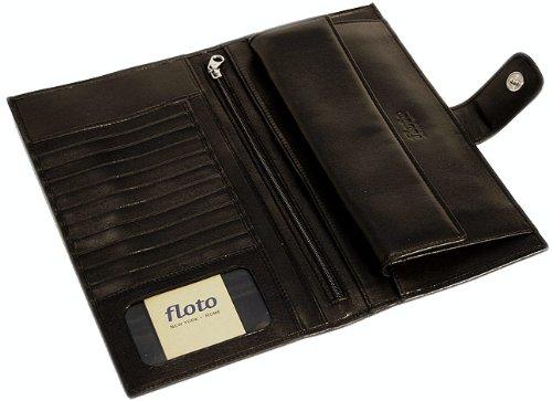 Firenze Leather Document Folder Color: Black by Floto Imports (Image #2)