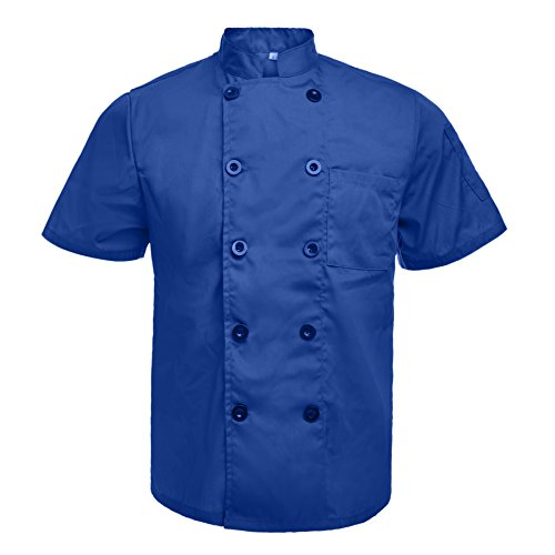 chef coats blue - 1