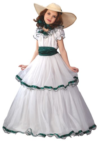 Southern Belle Costume Kids - Fun World Big Girl's Southern Belle