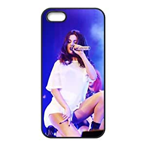 Custom Personalized Selena Gomez Back Cover Case TPU for iphone5,5S JN5S-938