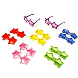 Best dazzling toys Kids Birthday Gifts - Star Shaped Sunglasses Set of 12 Star Sunglasses Review