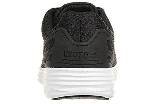Kappa Trust Unisex-erwachsene Sneakers 1110 Nero / Bianco