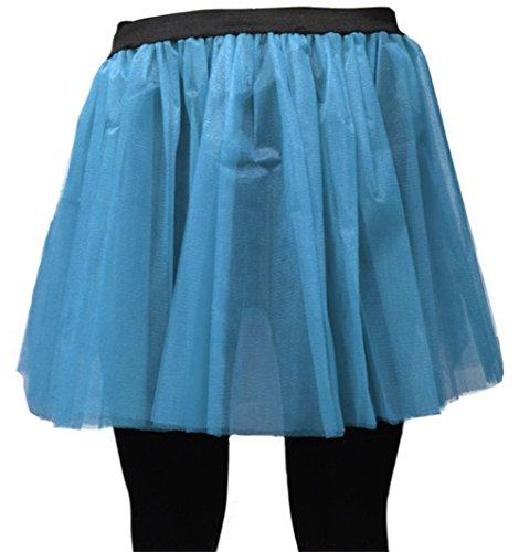 Uv Tutu express 6cm For Skirt Flo 35 A Fun Blue Long Neon OYBYq