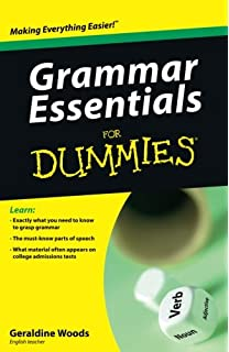 com writing essays for dummies mary page  grammar essentials for dummies