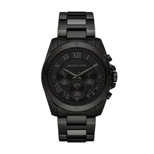 Michael Kors Men's Brecken Black Watch - Men Kors Black Watch Michael