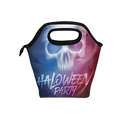 Durable Insulated Lunch Box Halloween Party Flyer Tote Reusable Cooler Bag Organizer Portable Reusable Lunch Tote for $<!--$12.00-->