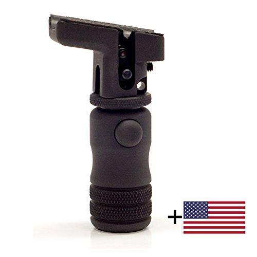 Accu-Shot BT01-QK Monopod Stud-Mount Adjustable Height Remington 700 Savage Arms + FREE US Flag Sticker