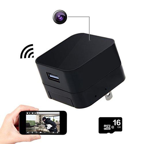 Toguard Black Mini Wifi Usb Adapter Hidden Hd Spy Camera