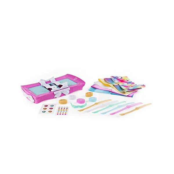 Cool Maker - JoJo Siwa Bow Maker with Rainbow and Unicorn Patterns, for Ages 6 and Up 5