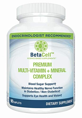 Premium Multivitamin and Mineral Complex Capsules – 90 Tablets – Combination of Vitamin A, B, C, D, E, K, and Zinc – Promotes Healthy Blood Sugar, Vision, and Immunity for Men and Women