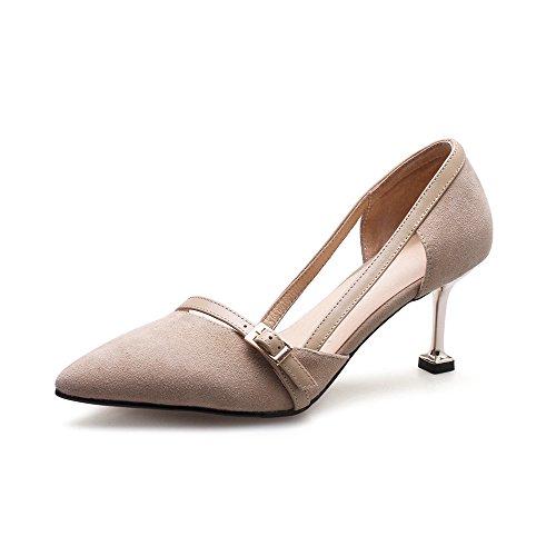 nbsp;Dünne Zehen High Schuhe Leder Pumps Schuhe Damen Hochzeit Damen Heels Schuhe Pumpspumps Spitz VIVIOO nbsp; Party nbsp; Schuhe Frauen wZgxYxUa