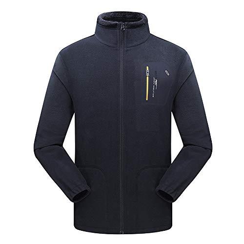 Polaire Lookboom Hiver Cyclisme Doudoune Automne Hommes Vêtements Veste Manches Thermique Respirant Noir Long Imperméable HqrwqXTc