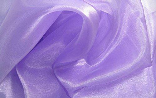 MDSパック10ヤードブライダルのソリッド薄手のオーガンジー生地ウェディングドレス用ボルト、ファッション、工芸品 B0779CWKQS、装飾シルク光沢オーガンジー44
