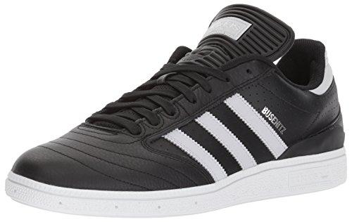Adidas Skate Busenitz (bianco / Ftwwht / Gum) -10.5 Black/Light Solid Grey/Metallic Silver