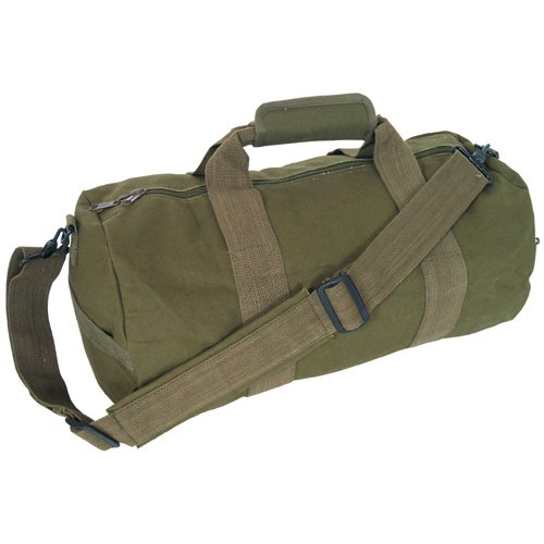 Fox Outdoor Products Canvas Roll Bag, Olive Drab, 9 x 18-Inch (Fox Outdoor)