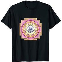 Sri Yantra Sacred Geometry T-Shirt - Shree Chakra T-shirt