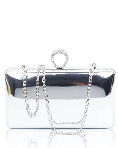 Pochette Pour London Femme Craze Silver OTq5n1xw