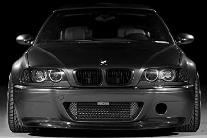Amazon Com Poster Of Bmw M3 E46 Front Black And White On Work