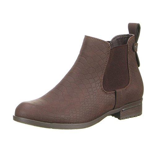 Boras - Botas de Material Sintético para mujer Marrón marrón, color Negro, talla 38