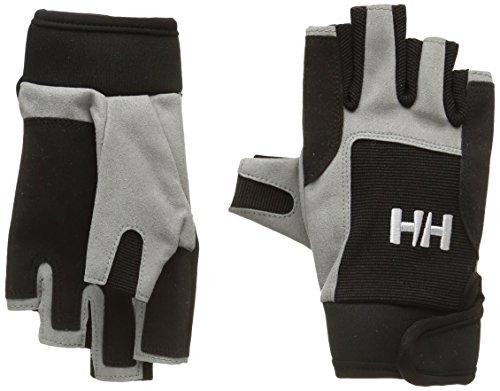 Helly Hansen Unisex Segelhandschuhe Short, Black, M, 67110_990