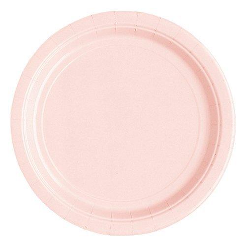 - Baby Pink Dessert Plate 24ct