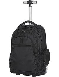 B-Trail Rolling Back Pack Black