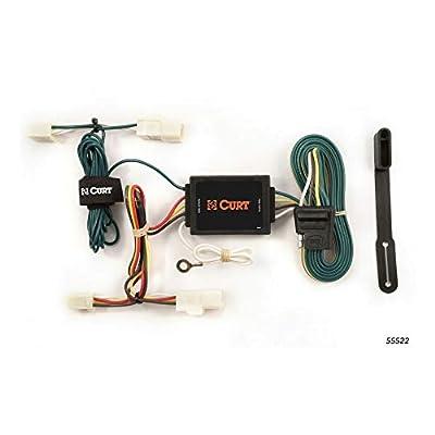 CURT 55522 Vehicle-Side Custom 4-Pin Trailer Wiring Harness for Select Toyota Matrix, Toyota Echo: Automotive